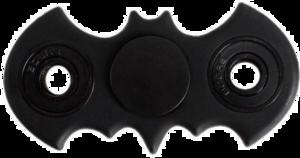 Black Fidget Spinner PNG HD PNG Clip art