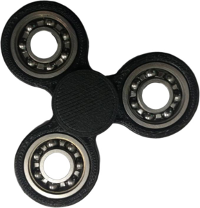 Black Fidget Spinner PNG Photos PNG Clip art