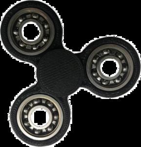 Black Fidget Spinner PNG Photos PNG Clip art