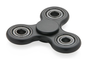 Black Fidget Spinner PNG Pic PNG icons