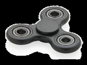 Black Fidget Spinner PNG Pic PNG image