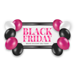 Black Friday Sale Transparent Background PNG Clip art
