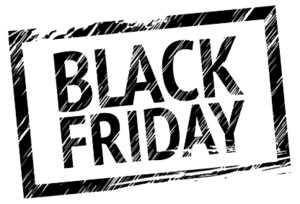 Black Friday Transparent PNG PNG Clip art
