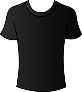 Black T-Shirt Clip Art Round Neck PNG PNG Clip art