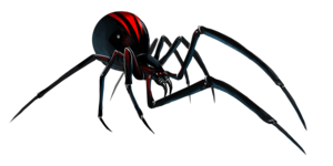 Black Widow Spider PNG File PNG Clip art