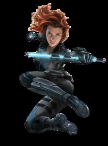 Black Widow Transparent Background PNG Clip art