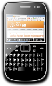 Blackberry Mobile Transparent PNG PNG clipart
