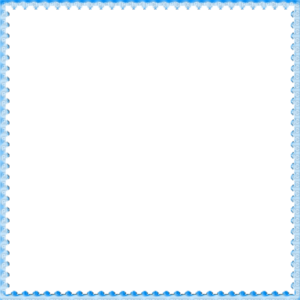 Blue Border Frame PNG File PNG icon