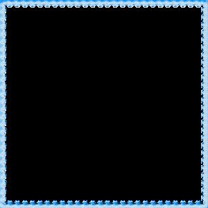 Blue Border Frame PNG File PNG Clip art