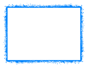 Blue Border Frame PNG HD PNG icon