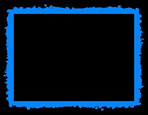 Blue Border Frame PNG HD PNG Clip art