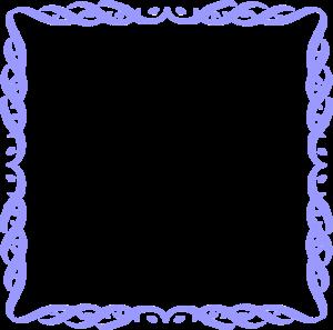 Blue Border Frame PNG Picture PNG Clip art