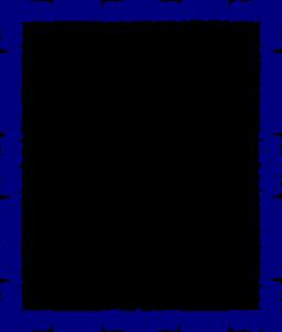 Blue Border Frame PNG Transparent Image PNG Clip art