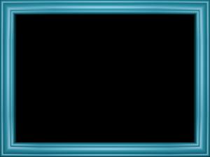 Blue Border Frame PNG Transparent Picture PNG Clip art