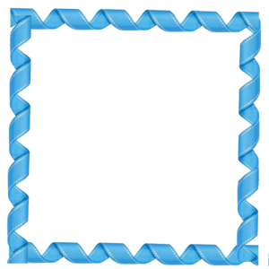 Blue Border Frame Transparent PNG PNG icon