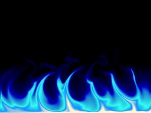 Blue Fire PNG File PNG Clip art