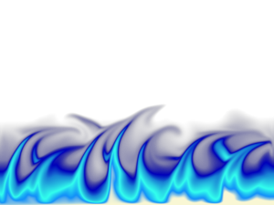 Blue Fire Transparent PNG PNG Clip art