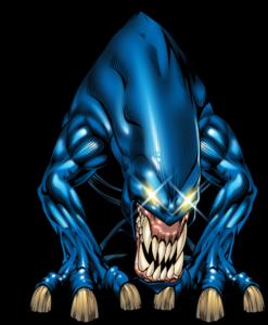 Blue Monster PNG Clipart PNG Clip art