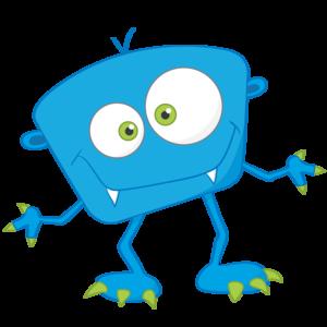 Blue Monster PNG Free Download PNG Clip art