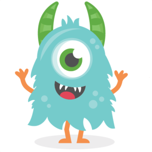 Blue Monster PNG HD PNG Clip art