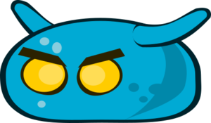 Blue Monster PNG Picture PNG Clip art