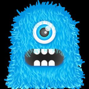 Blue Monster PNG Transparent Image PNG Clip art