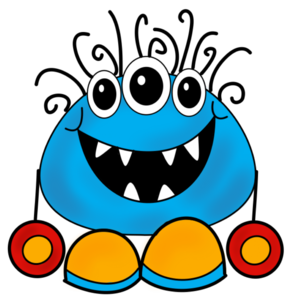 Blue Monster PNG Transparent PNG image