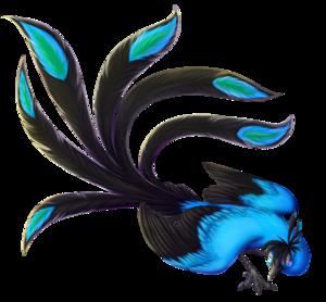 Blue Phoenix PNG Clipart PNG Clip art
