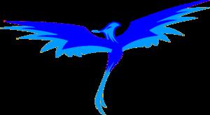 Blue Phoenix PNG HD PNG Clip art