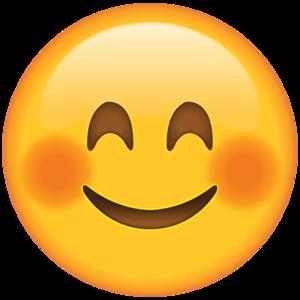 Blushing Emoji PNG HD PNG Clip art
