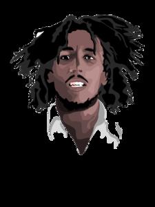 Bob Marley Transparent Background PNG Clip art