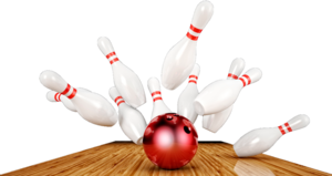 Bowling Strike Background PNG PNG Clip art