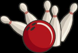 Bowling Strike Transparent Background PNG Clip art
