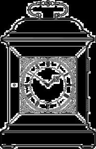 Bracket Clock PNG Transparent Image PNG Clip art