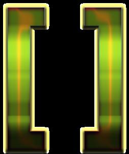 Brackets PNG Transparent Image PNG Clip art