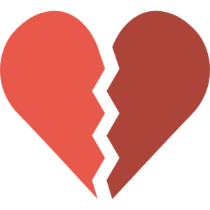 Broken Heart PNG File PNG Clip art