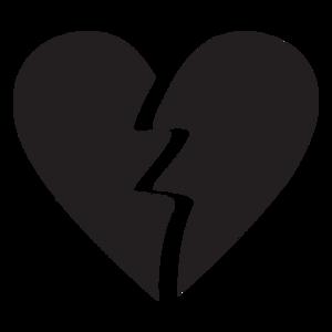 Broken Heart PNG Image PNG Clip art
