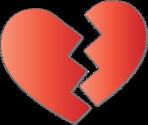 Broken Heart PNG Pic PNG Clip art