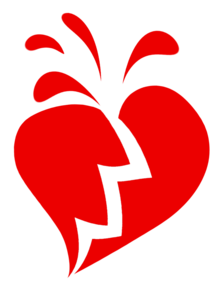 Broken Heart Transparent PNG PNG Clip art