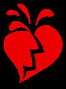 Broken Heart Transparent PNG PNG Clip art
