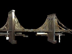 Brooklyn Bridge Transparent Background PNG Clip art