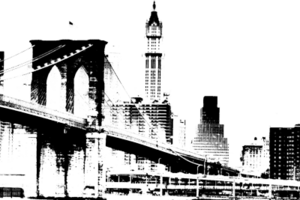 Brooklyn Bridge Transparent PNG Clip art