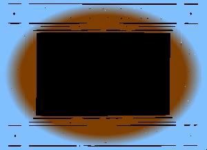 Brown Border Frame PNG File PNG Clip art