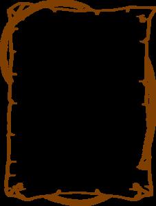Brown Border Frame PNG HD PNG Clip art