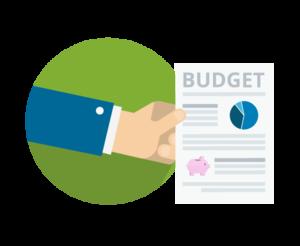 Budget Transparent Background PNG Clip art