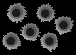 Bullet Holes PNG File PNG Clip art