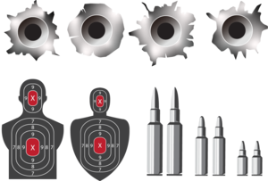 Bullet Holes PNG Photo PNG Clip art