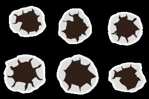 Bullet Holes PNG Photos PNG Clip art