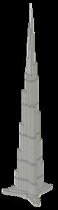Burj Khalifa Transparent Background PNG Clip art