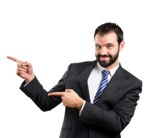 Businessman Poiting PNG PNG Clip art